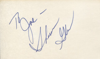 SHARON GLESS - INSCRIBED SIGNATURE