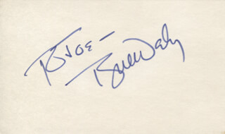 TYNE DALY - INSCRIBED SIGNATURE  - HFSID 347690