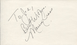 MARCIA CROSS - AUTOGRAPH NOTE SIGNED