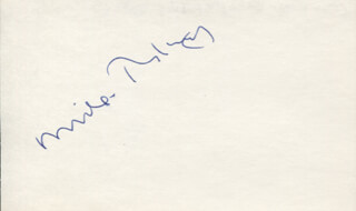 GENESIS (MICHAEL RUTHERFORD) - AUTOGRAPH