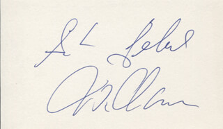 GUNTHER GEBEL-WILLIAMS - AUTOGRAPH