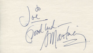 A. (ADOLPHE) MARTINEZ - AUTOGRAPH NOTE SIGNED
