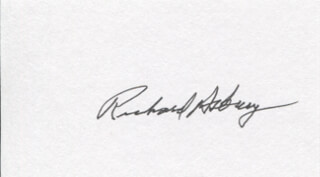 Autographs: RICHARD ASBURY - SIGNATURE(S)