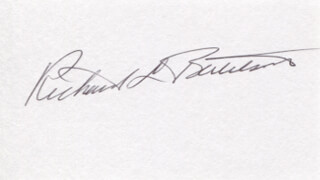 Autographs: RICHARD L. BERTELSON - SIGNATURE(S)