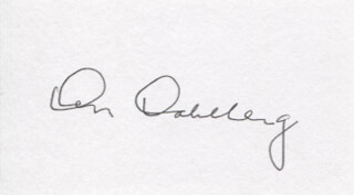 Autographs: CAPTAIN KEN DAHLBERG - SIGNATURE(S)