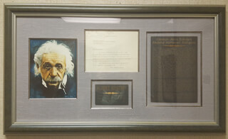 ALBERT EINSTEIN - TYPED LETTER SIGNED 08/01/1940