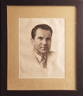 NORMAN ROCKWELL - ORIGINAL ART SIGNED CIRCA 1960
