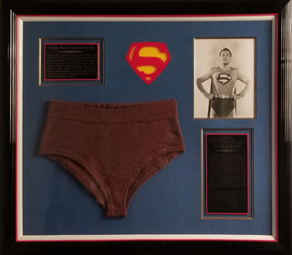 GEORGE SUPERMAN REEVES - EPHEMERA UNSIGNED
