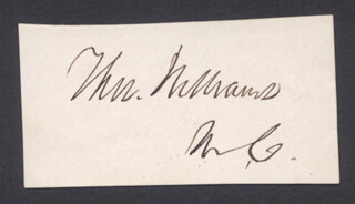 THOMAS WILLIAMS - AUTOGRAPH