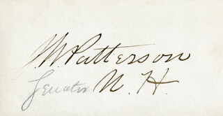 JAMES W. PATTERSON - AUTOGRAPH