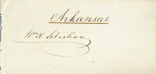WILLIAM K. SEBASTIAN - AUTOGRAPH