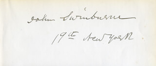 JOHN SWINBURNE - AUTOGRAPH