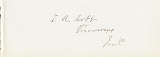 THOMAS REED COBB - AUTOGRAPH
