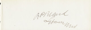 Autographs: RICHARD P. BLAND - SIGNATURE(S)