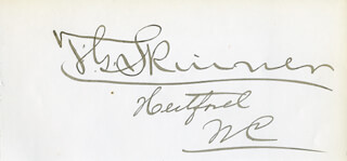 THOMAS GREGORY SKINNER - AUTOGRAPH