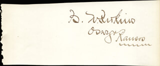 BISHOP W. PERKINS - AUTOGRAPH