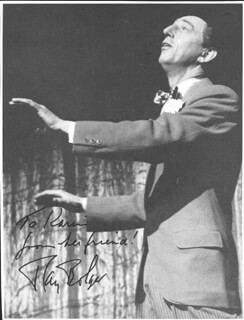RAY BOLGER - INSCRIBED MAGAZINE PHOTO SIGNED