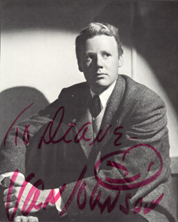 VAN JOHNSON - INSCRIBED MAGAZINE PHOTO SIGNED