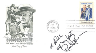 RUTH ROMAN - FIRST DAY COVER WITH AUTOGRAPH SENTIMENT SIGNED