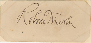 ROBERT TODD LINCOLN - AUTOGRAPH