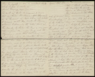 MARIE KATHLEEN WILLIAMS - AUTOGRAPH LETTER SIGNED 08/08/1872