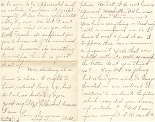 WILLIAM HIRAM RADCLIFFE - AUTOGRAPH LETTER SIGNED 10/1895