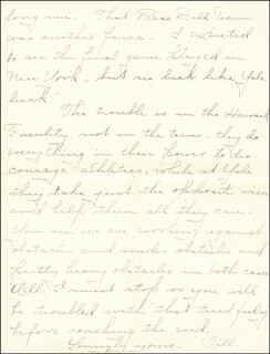 WILLIAM HIRAM RADCLIFFE - AUTOGRAPH LETTER SIGNED 07/02/1895