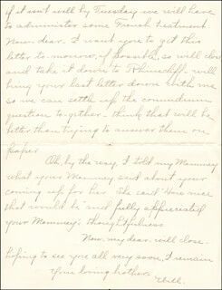WILLIAM HIRAM RADCLIFFE - AUTOGRAPH LETTER SIGNED 01/03/1897