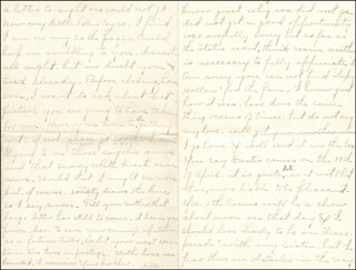WILLIAM HIRAM RADCLIFFE - AUTOGRAPH LETTER SIGNED