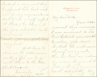 WILLIAM HIRAM RADCLIFFE - AUTOGRAPH LETTER SIGNED 06/22/1895