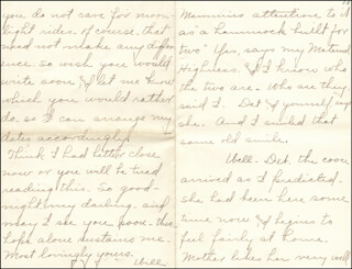 WILLIAM HIRAM RADCLIFFE - AUTOGRAPH LETTER SIGNED 08/02/1896