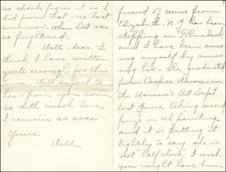 WILLIAM HIRAM RADCLIFFE - AUTOGRAPH LETTER SIGNED 08/16/1896