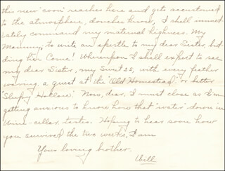 WILLIAM HIRAM RADCLIFFE - AUTOGRAPH LETTER SIGNED 07/14/1896