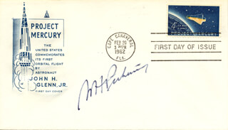WILLIAM HAYWARD PICKERING - FIRST DAY COVER SIGNED