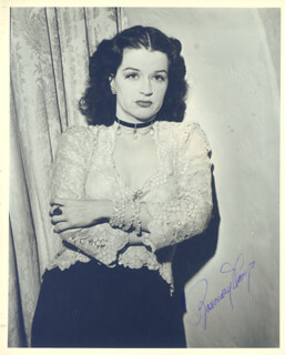 ROSEMARY DECAMP - AUTOGRAPHED SIGNED PHOTOGRAPH