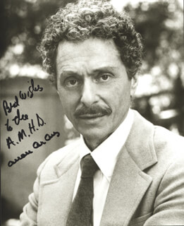 ALLAN ARBUS - AUTOGRAPHED INSCRIBED PHOTOGRAPH