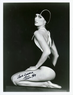 ANA ALICIA - AUTOGRAPHED SIGNED PHOTOGRAPH 6/1984