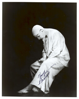 Autographs: HARRY BARTRON - PHOTOGRAPH SIGNED