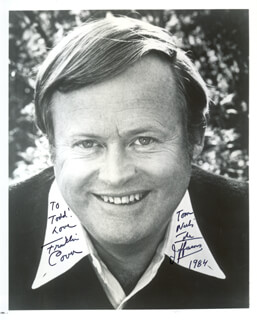 FRANKLIN COVER - AUTOGRAPHED INSCRIBED PHOTOGRAPH 1984
