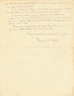 THOMAS A. WATSON - AUTOGRAPH LETTER SIGNED 08/23/1930