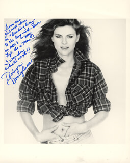 ROBYN DOUGLASS - AUTOGRAPHED SIGNED PHOTOGRAPH