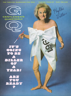 PHYLLIS DILLER - AUTOGRAPHED SIGNED POSTER