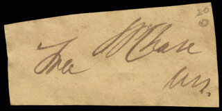 Chief Justice Salmon P. Chase Autographs 36530