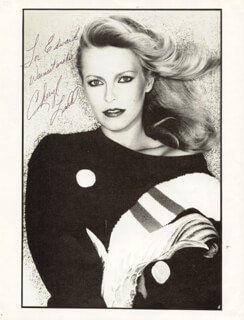 CHERYL LADD - AUTOGRAPHED INSCRIBED PHOTOGRAPH