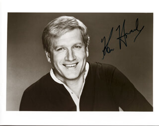 KEN HOWARD - AUTOGRAPHED SIGNED PHOTOGRAPH
