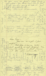 HOWARD HUGHES - AUTOGRAPH LETTER SIGNED CO-SIGNED BY: JEAN PETERS