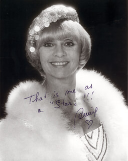 BARONESS ANNIE CORDY - AUTOGRAPHED SIGNED PHOTOGRAPH
