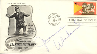 JOANNE WOODWARD - FIRST DAY COVER SIGNED