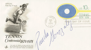 PANCHO GONZALEZ - FIRST DAY COVER SIGNED