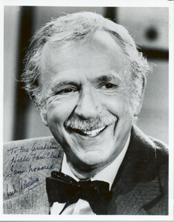 JACK ALBERTSON - AUTOGRAPHED INSCRIBED PHOTOGRAPH